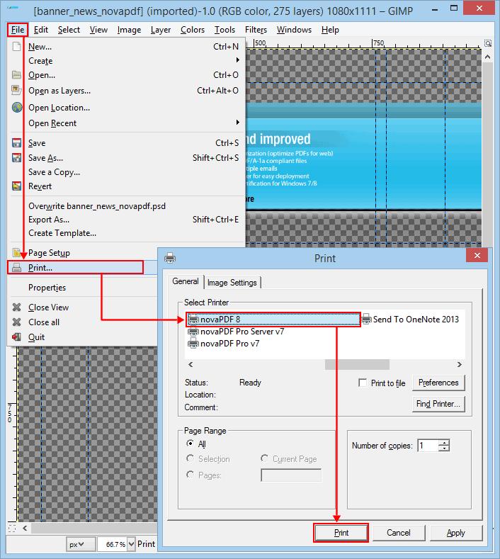 Как сделать цветным pdf