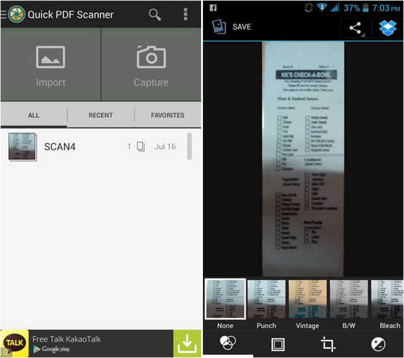 Top 9 PDF Scanner Apps for Android | Wondershare PDFelement