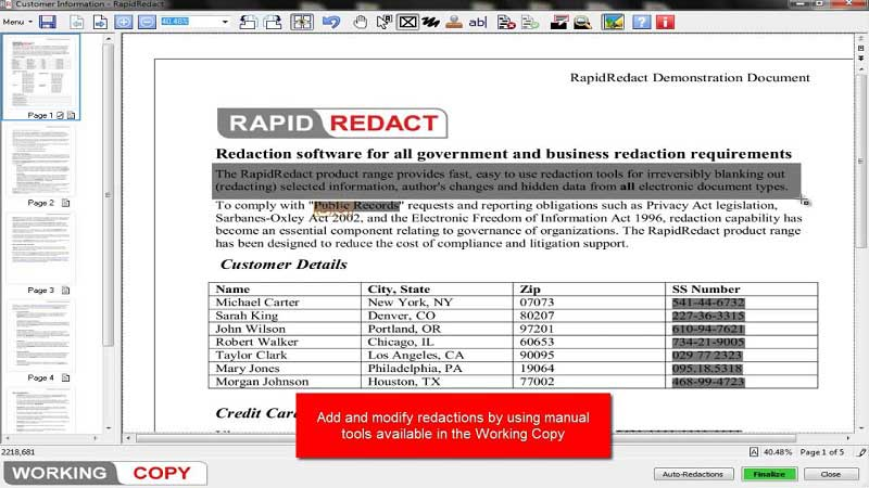 redaction tools