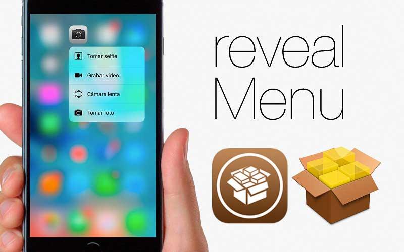 reveal menu