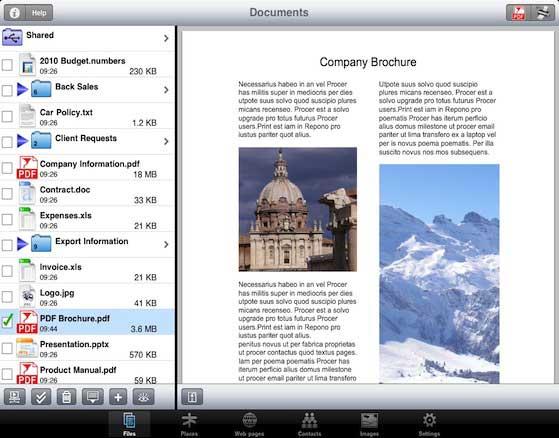 photo à pdf app