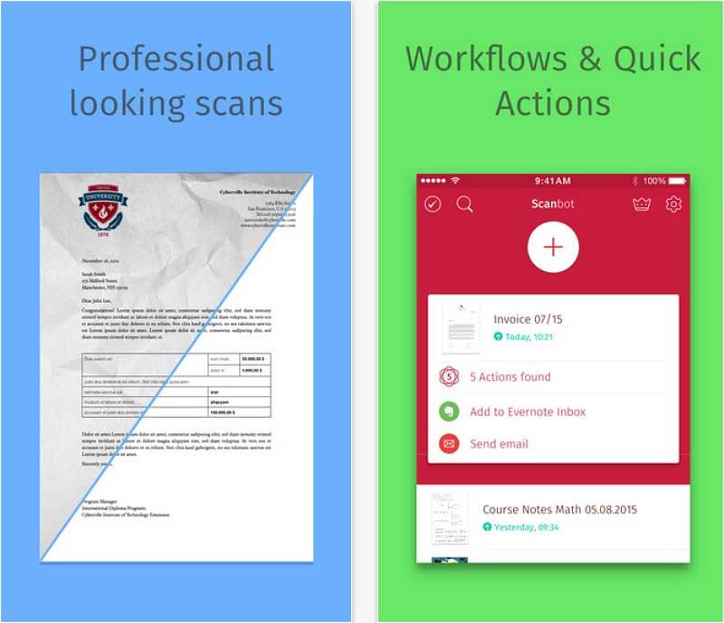 application pdf pour iphone