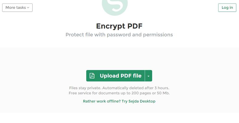 Crypter les pdf en ligne