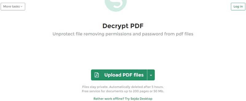 déverrouiller pdf en ligne