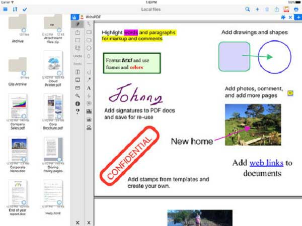 best pdf editor iphone