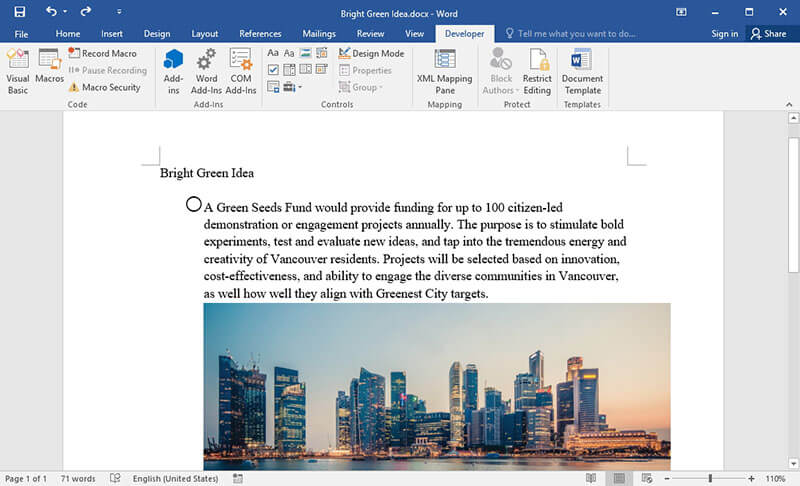 How to Add Checkbox in Word | Wondershare PDFelement