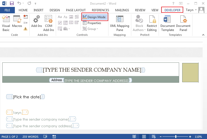 6 simple steps to create a form in word | wondershare pdfelement