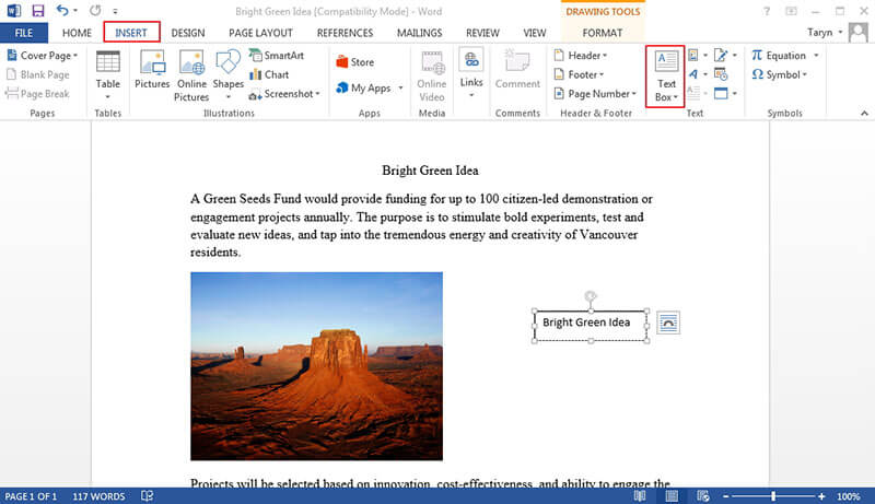 Steps To Link Text Boxes In Word Wondershare Pdfelement