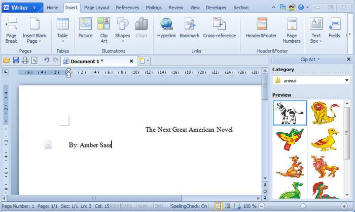 editor word