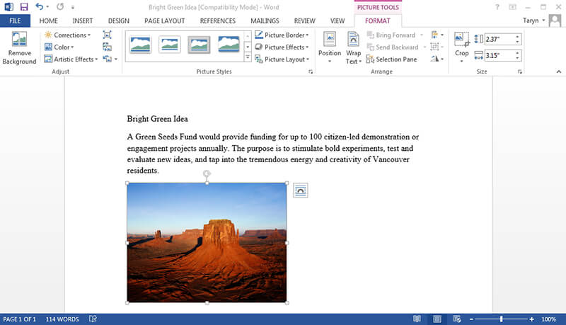 How to Resize a Picture in Word Quickly and Easily for Free